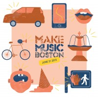 Make Music Boston 2015 Artwork