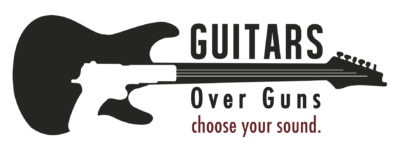 Guitars Over Guns logo