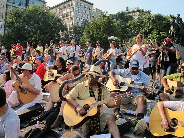 Make Music New York's Mass Appeal Guitars 2014