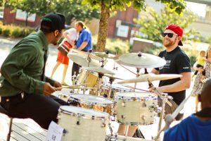 Drum set duet