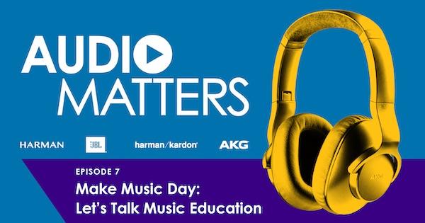 Harman's Audio Matters podcast