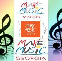 MAKE MUSIC DAY 6/21 - MACON DOWNTOWN POP-UP BOOGIE/U CREATE MACON - BMF  -