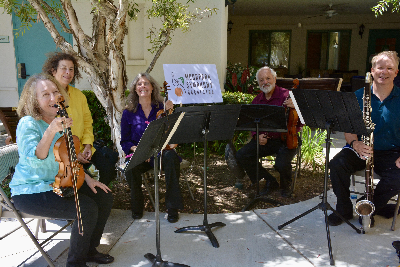 Moorpark Symphony Window Serenade Quartet