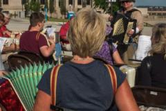 accordionathan at Twin Cities Make Music Day