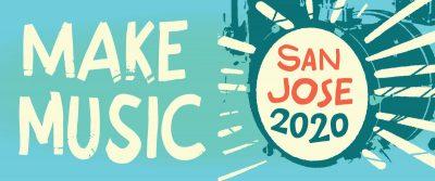 Make Music San Jose 2020 Drum Icon
