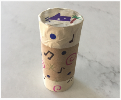 Image of paper roll shaker