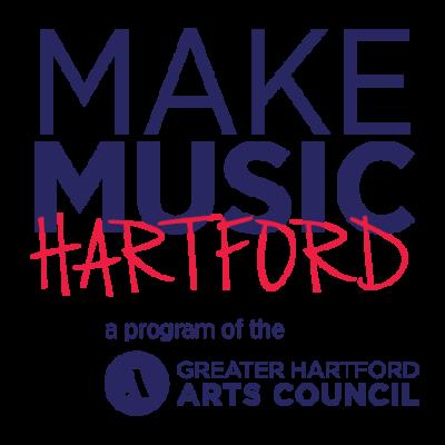 Make Music Hartford - A program of the Greater Hartford Arts Council logo