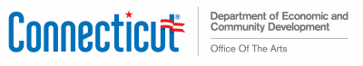 Connecticut: Department of Economic and Community Development Office of the Arts logo